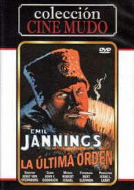 La última orden (1928) EEUU. Dir.: Josef Von Sternberg. Drama. Cine dentro do cine - DVD CINE 2230-II