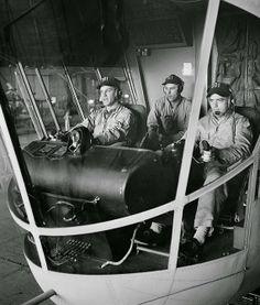 Blimp pilots 1955