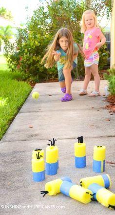 5 manualidades para niños con churros de piscina Divertidas manualidades para niños con churros de piscina. Aprovechamos este material económico para hacer manualidades para niños.