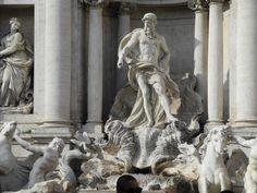 Fontana di Trevi Rome, #Italy #travel