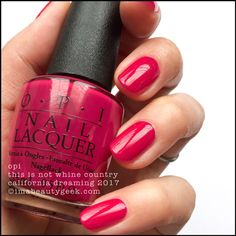 OPI This Is Not Whine Country – OPI California Dreaming 2017