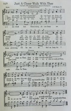 Just a Closer Walk With Thee, with Paradise Singers at PV United Methodist… This Is Gospel Lyrics, Gospel Music, Music Lyrics, Music Songs, Hymns Of Praise, Praise Songs, Worship Songs, Church Songs, Church Music