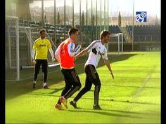 Sergio Ramos Callejón es protagonista de Hoy entrenamos con de Realmadrid TV