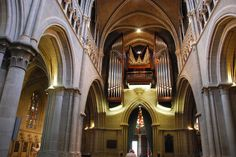 Lausanne - Notre Dame Cathedral Organ Place de la Cathédrale