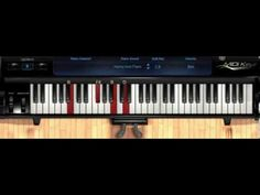 how to play oceans on piano