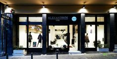 """The """"Alexander Furs"""" gorgeous retail store located in Athens, Greece."""