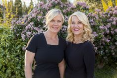 Hannah and Delores, the most beautiful mother/daughter combo since Goldie Hawn and Kate Hudson or Naomi and Ashley Judd! ;)