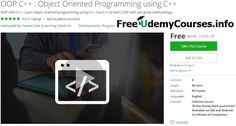 [#Udemy 100% Off] OOP C : #Object_Oriented Programming using C   About This Course  Published 10/2016English  Course Description  Can you write objected oriented code in C?  If not then do not worry because we are aiming at teaching object oriented programming in the easiest possible way.This course is designed in such a way that you would be able to learn all the concepts in the shortest span of time evidently becoming the best one in among your fellow friends.  This course describes all…