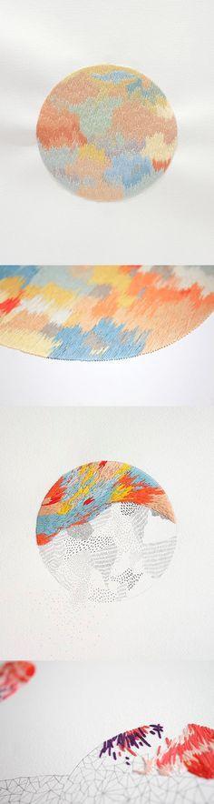 Embroidery art - Izz