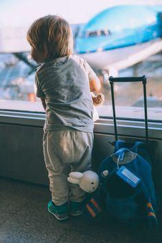 Little traveler.