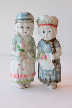 Vintage Bisque Frozen Charlotte Penny Doll