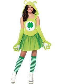 Teen Girls Good Luck Bear Costume - Care Bears - Party City  sc 1 st  Pinterest & 52 best Care Bears Costumes images on Pinterest | Care bear costumes ...