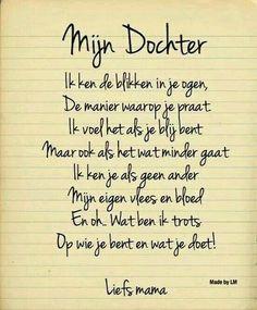 Gedicht: Mijn dochter
