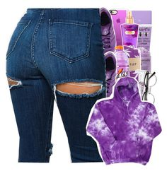 """""""purple contest"""" by danny-baby ❤ liked on Polyvore featuring Burt's Bees, Casetify, Victoria's Secret, adidas, HUF and Gatorade"""