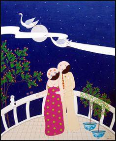 John Lim Paintings | La Galerie Shayne - The Shayne Gallery Popular Paintings, Printmaking, Disney Characters, Fictional Characters, Snoopy, Disney Princess, Illustration, Prints, Design