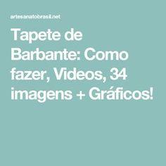 Tapete de Barbante: Como fazer, Videos, 34 imagens + Gráficos!