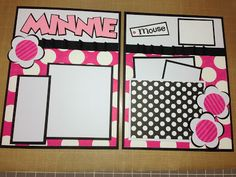 Scrap-Obsessed: Another Minnie mini Layout