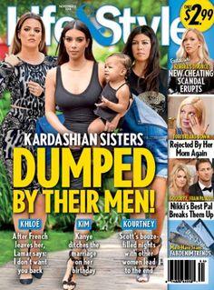 Kourtney, Khloe and Kim Kardashian: All Dumped By Their Men?!?