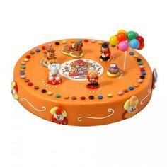 Gâteau cirque Ø 28 cm, 12/14 parts pour l'anniversaire de votre enfant - Annikids