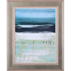 Found it at Wayfair - Sea and Sky I by Heather McAlpine Framed Painting Print