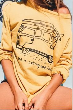 The Sea is Calling Sweater