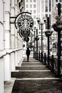 Starbucks in New York city ...