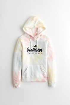 Buy Hollister White Pattern Hoody from the Next UK online shop Hollister Outfit, Hollister Clothes, Hollister Hoodie, Cute Teen Outfits, Teen Fashion Outfits, Teenager Outfits, Outfits For Teens, Girl Outfits, Preteen Fashion