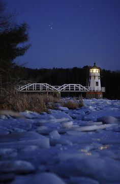*Doubling Point Lighthouse - Maine