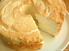DIY Angel Food Cake tastes heavenly (from The Hungry Mouse)