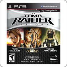 PS3 Tomb Raider Trilogy R$94.90
