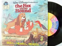 …and Book and Records… | Grandma D. Bought us the record player and all the Disney stories.