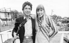#Sixties   Leonard Cohen and Joni Mitchell