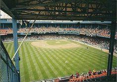 Baseball Park, Sports Baseball, Baseball Field, Baseball Stuff, Detroit Sports, Detroit Tigers Baseball, Chicago Cubs, Tiger Stadium, Sports Stadium
