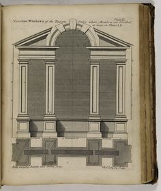 The City and Country Builder's, and Workman's Treasury of Designs: Or, The Art Of Drawing and Working The Ornamental Parts of Architecture by Batty Langley (1696–1751), published 1740 [©RIBA Collections]