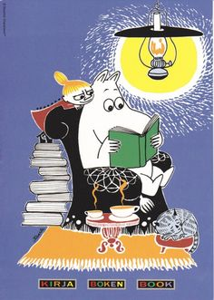 Tove Jansson's  Moomin and Little My