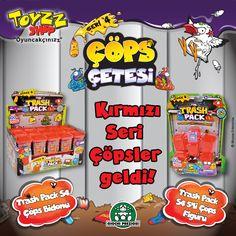 Yeni seri Çöps ler Toyzz Shop'ta! Yeni çöpslerle tanışmak ve koleksiyonunu genişletmek için haydi Toyzz Shop'a..