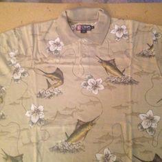 Mens XL Ralph Lauren Chaps Polo Shirt Mens XL Ralph Lauren Chaps Polo Shirt. Short Sleeve, 2 button at Collar, 100% Cotton Ralph Lauren Tops Tees - Short Sleeve