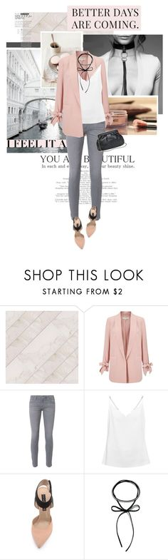 """Без названия #505"" by nkara ❤ liked on Polyvore featuring Miss Selfridge, AG Adriano Goldschmied, Ted Baker, Steven, MANGO, Spring and choker"