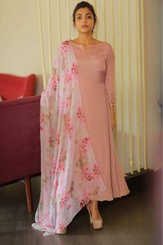 Online Shopping of Peach Sober salwar Suit from mongoosekart, best products,fatest delivery available here, Huge collection of Straight fit Salwar suit . Kurta Designs Women, Kurti Neck Designs, Kurti Designs Party Wear, Salwar Designs, Saree Blouse Designs, Dress Neck Designs, Indian Attire, Indian Wear, Indian Outfits