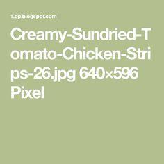 Sundried Tomato Chicken, Chicken Strips, Head Of Cauliflower, Food And Drinks, Kochen, Rezepte, Casseroles