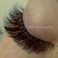 fluffy russian volume lashes   eyelash extensions. I love Russian Volume lashes
