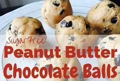 Chocolate Peanut Butter Balls - THM Friendly