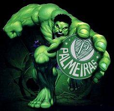 Mascote Hulk Palmeiras
