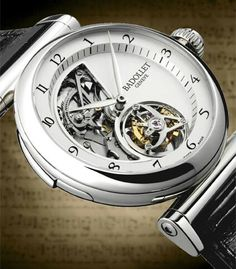 OBSERVATOIRE 1872 MINUTE REPEATER IN 18K WHITE GOLD BY BADOLLET