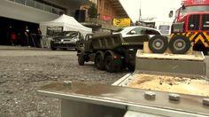 VERY BEST OF SWISS ARMY SAURER TRUCK RC CONTROL BEST CONSTRUCTION