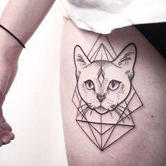 awesome Geometric Tattoo - Mais... Check more at http://tattooviral.com/tattoo-designs/geometric-designs/geometric-tattoo-mais-3/