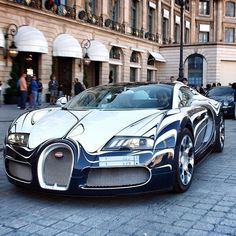 Visit The MACHINE Shop Café... ❤ Best of Bugatti @ MACHINE ❤ (Veyron Grand Sport L'Or Blanc)