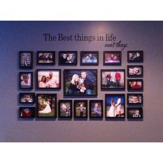 Family frame collage
