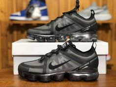 the latest 2120a 4b490 Mens Nike Air VaporMax Flyknit 2019 Black AR6631-004-4 Nike Air Vapormax,