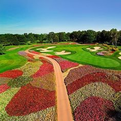 Golf Ball Crafts The SentryWorld golf course is one of the most beautiful golf courses in the world. Famous Golf Courses, Public Golf Courses, Olympic Venues, Augusta Golf, Coeur D Alene Resort, Golf Ball Crafts, Golf Apps, Golf Course Reviews, Golf Simulators